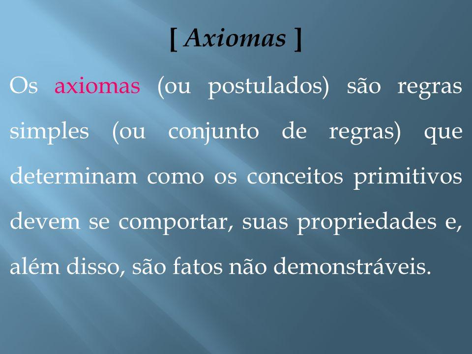 [ Axiomas ]